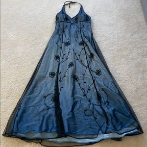 Cache Navy Blue gown